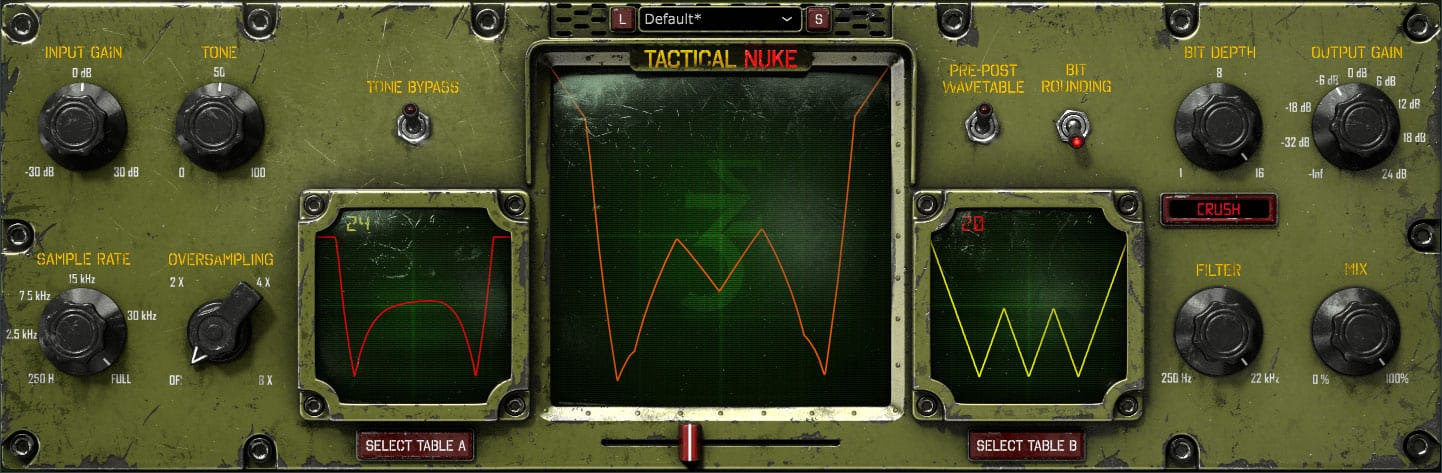 Tactical Nuke User Interface Screenshot